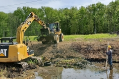 Downstream Ditch Excavation in New Castle County