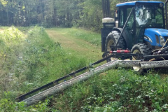 Weed wiper bar in Sussex County