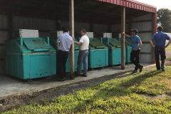 Poultry mortality freezers in Sussex County