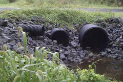 Drainage pipes in Sussex County