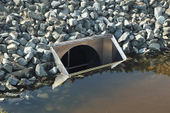 Drainage structure in Sussex County